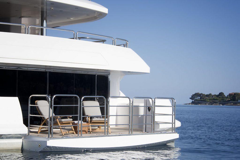 Princess AYK Yacht Exterior
